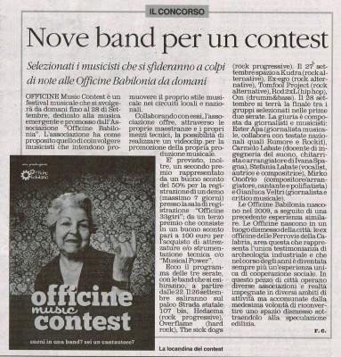 il quotidiano della calabria 25 sett 2013