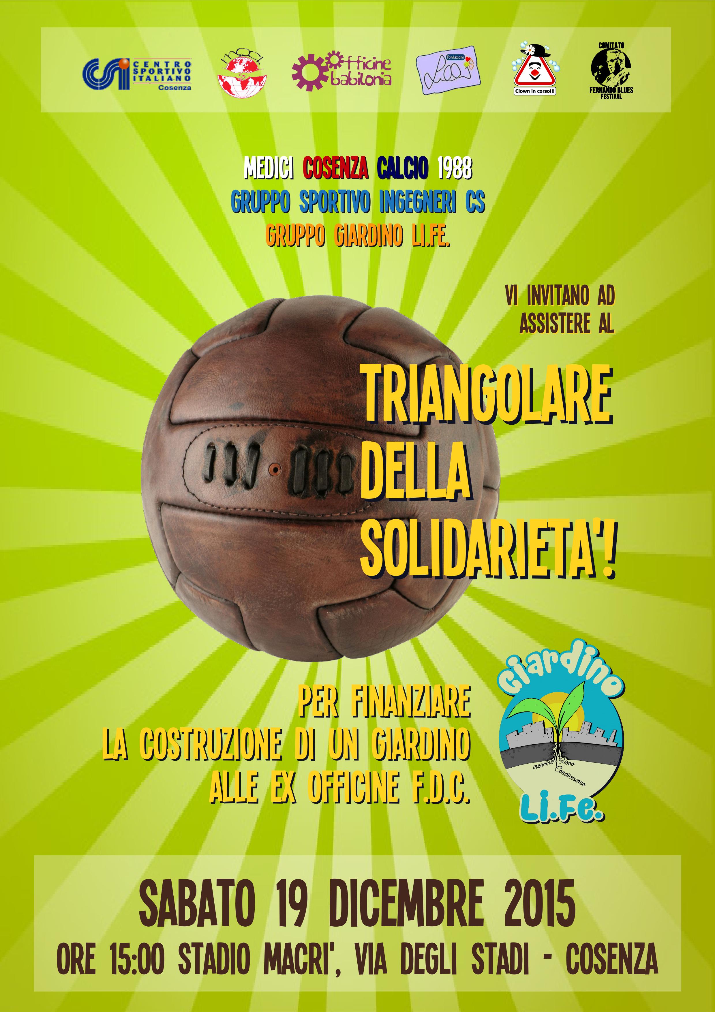 triangolare della solidarietà